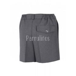 Pantalón corto uniforme Kids GRIS
