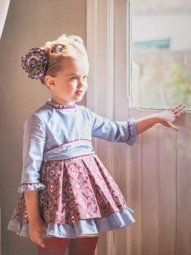 Vestido niña Dolce Petit  Otoño-Invierno 2016/17