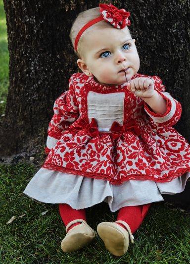 Vestido Miranda de bebé