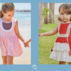 Vestidos de niña para este verano: los tejidos más fresquitos