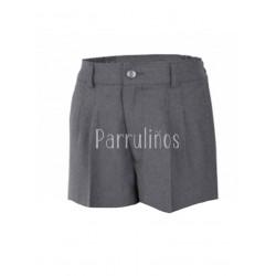 Pantalón Corto Botones Uniforme